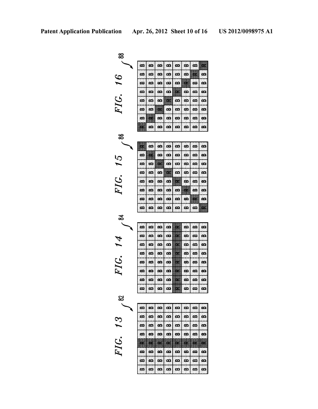 COLOR IMAGE SENSOR ARRAY WITH COLOR CROSSTALK TEST PATTERNS - diagram, schematic, and image 11