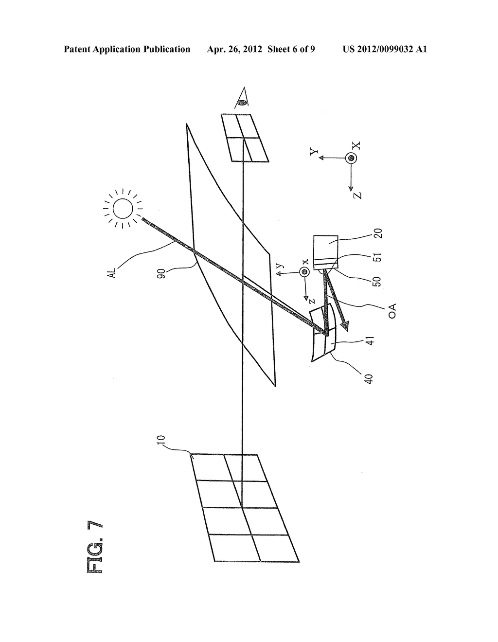 HEAD-UP DISPLAY DEVICE FOR PROJECTING IMAGE ON SCREEN - diagram, schematic, and image 07