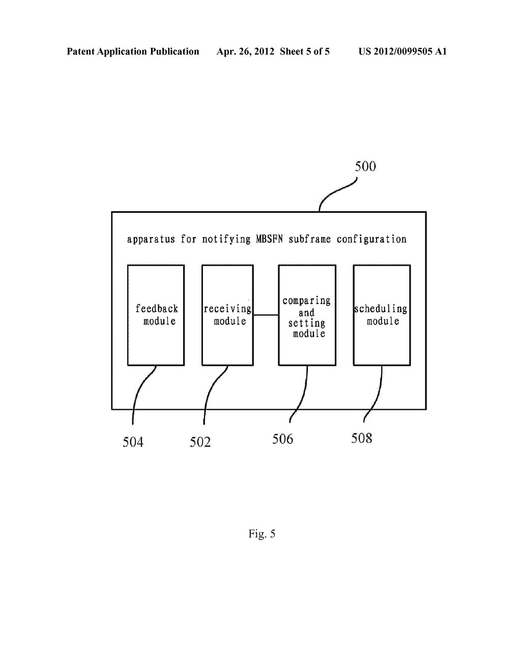 METHOD AND APPARATUS FOR NOTIFYING A SUBFRAME CONFIGURATION OF MULTICAST     BROADCAST SINGLE FREQUENCY NETWORK - diagram, schematic, and image 06