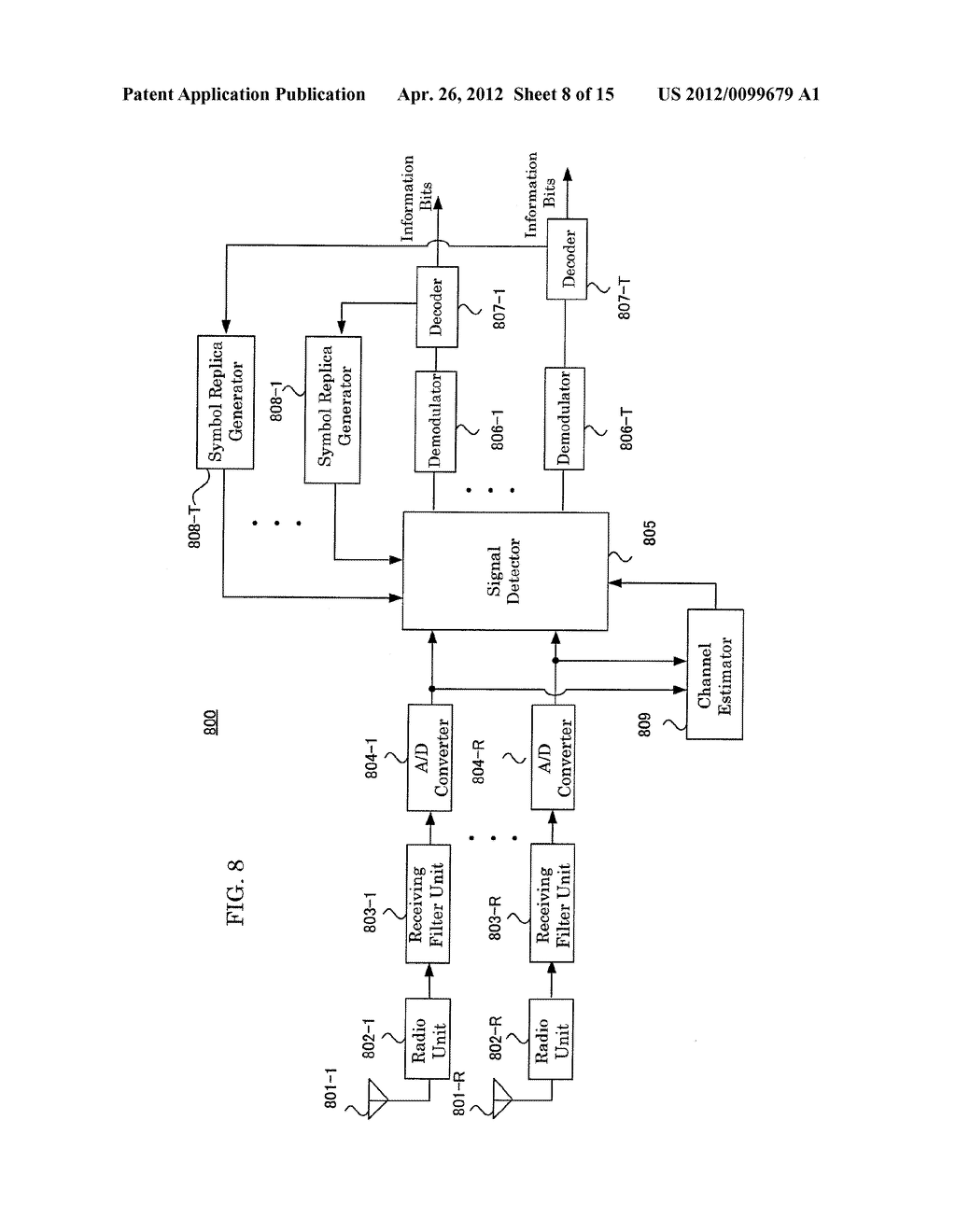 RECEIVING APPARATUS AND RECEIVING METHOD - diagram, schematic, and image 09