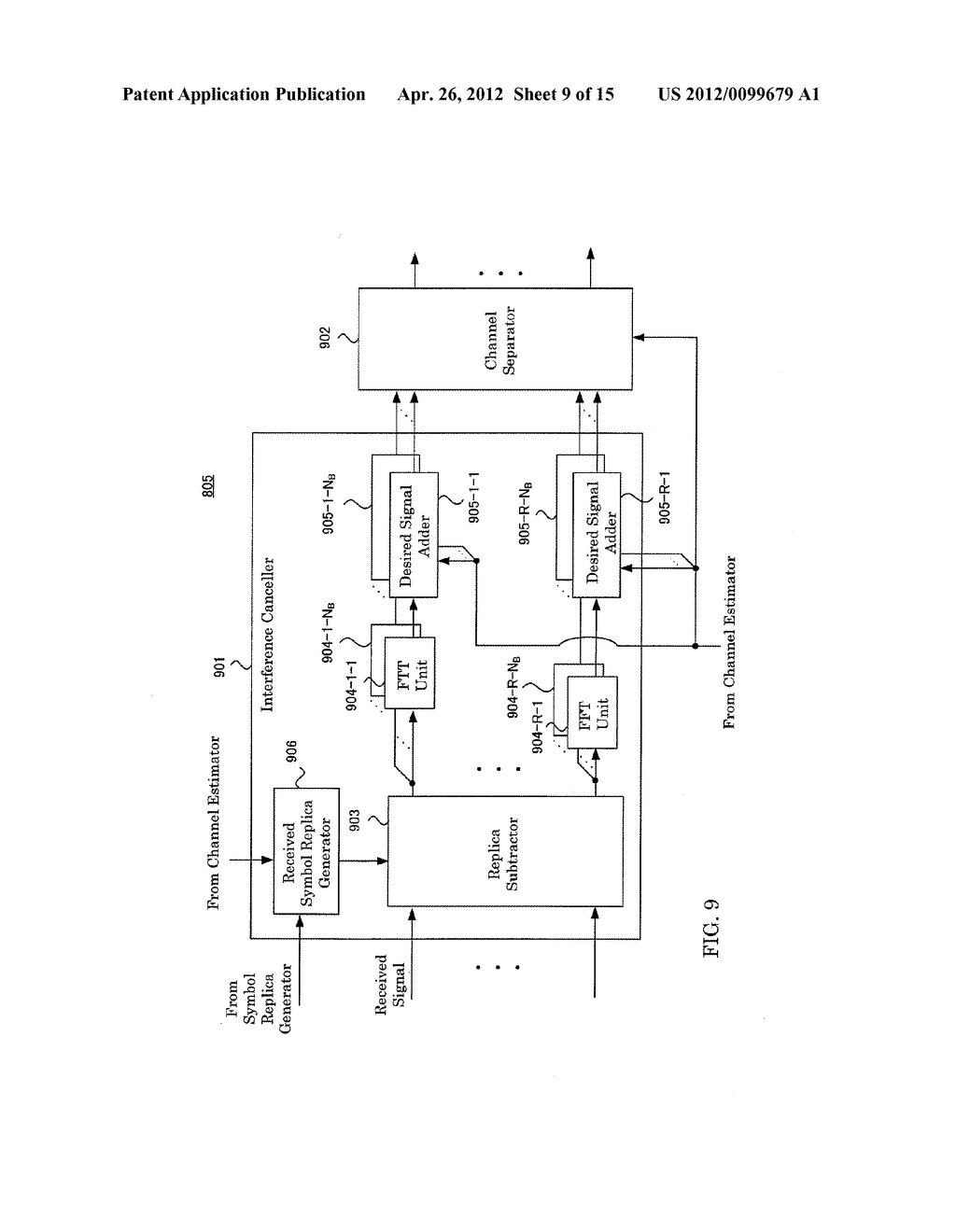 RECEIVING APPARATUS AND RECEIVING METHOD - diagram, schematic, and image 10