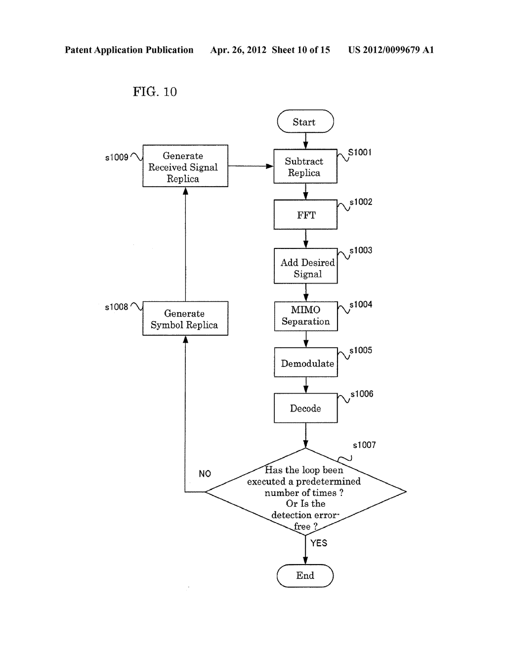RECEIVING APPARATUS AND RECEIVING METHOD - diagram, schematic, and image 11