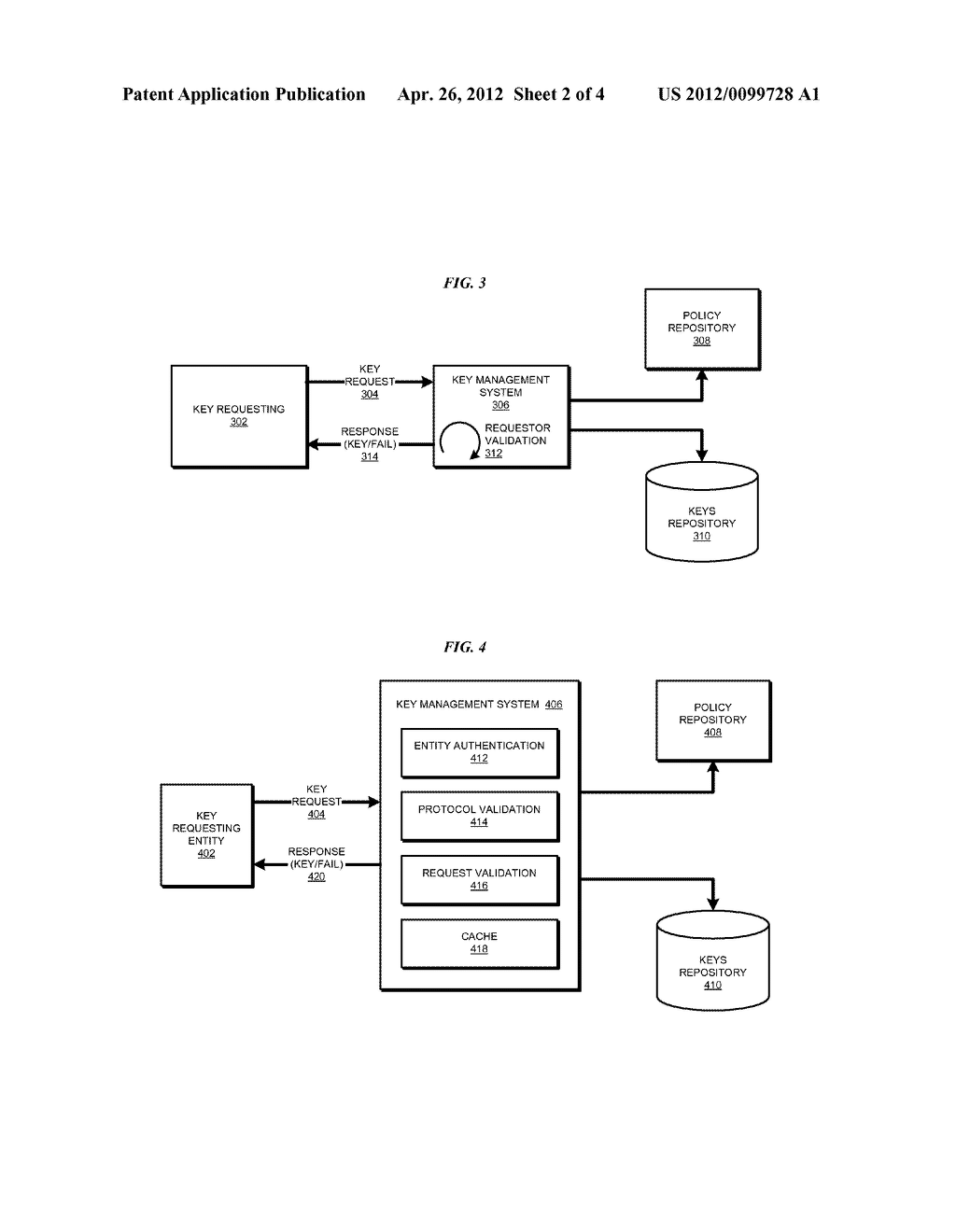 Protocol Based Key Management - diagram, schematic, and image 03