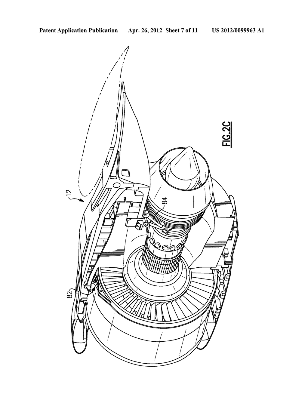 Engine Mount System For A Turbofan Gas Turbine Diagram Mounting Schematic And Image 08