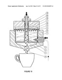 CAPSULES FOR OBTAINING INFUSIONS SUCH AS ESPRESSO OR BEVERAGES FROM     WATER-SOLUBLE PRODUCTS AND CORRESPONDING MACHINES USING SAME diagram and image