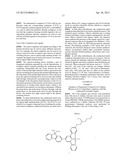 EMISSIVE AND BROADBAND NONLINEAR ABSORBING METAL COMPLEXES AND LIGANDS AS     OLED, OPTICAL SWITCHING OR OPTICAL SENSING MATERIALS diagram and image