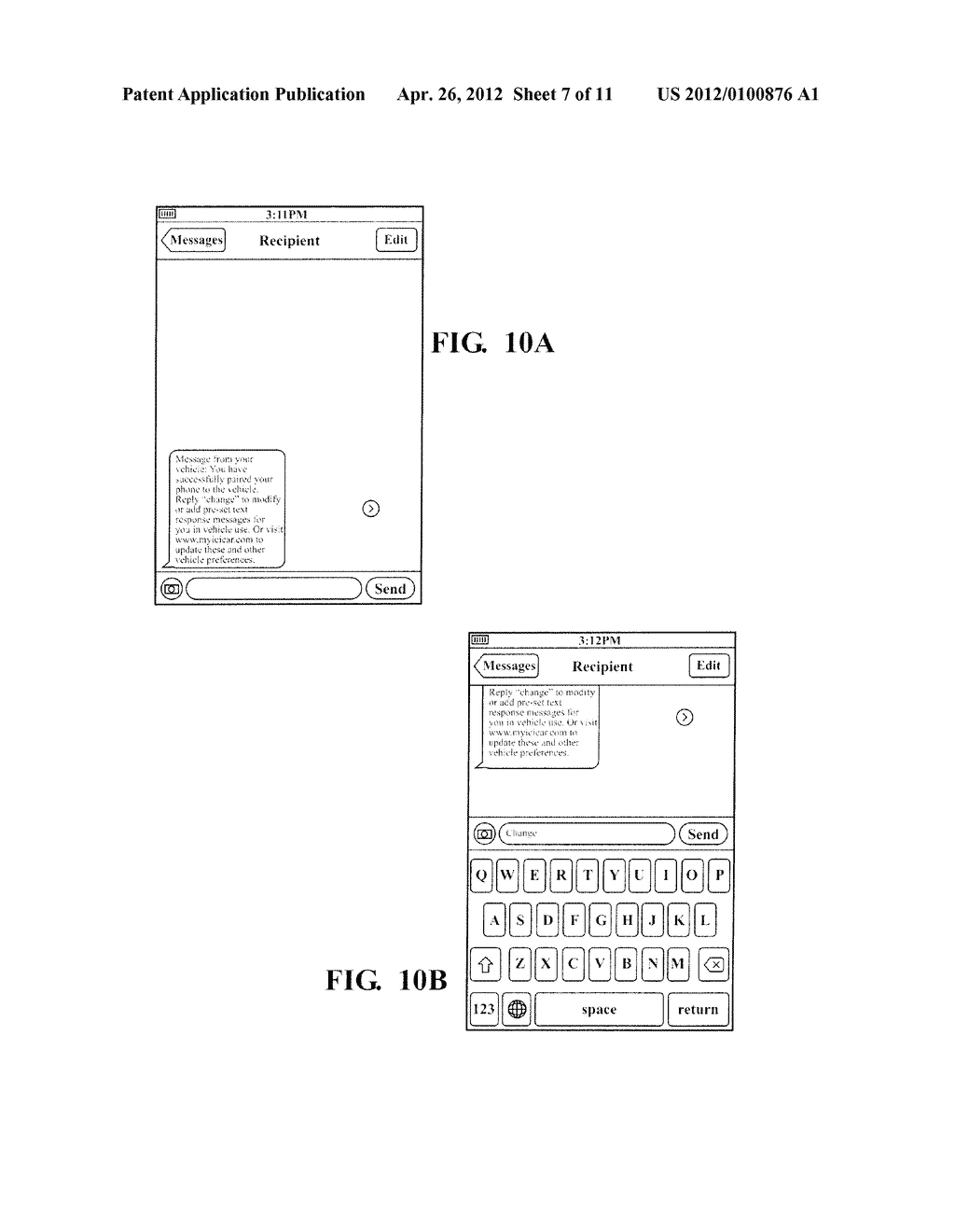 HANDS FREE TELEPHONE SYSTEM WITH INTEGRATED TEXT MESSAGING CONFIGURATION - diagram, schematic, and image 08