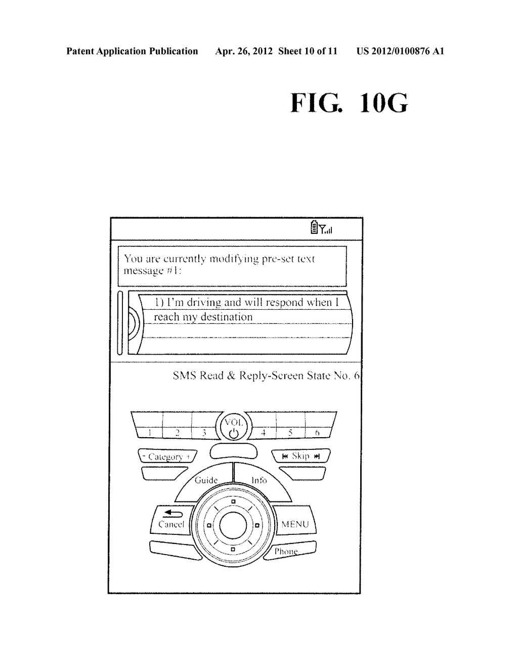 HANDS FREE TELEPHONE SYSTEM WITH INTEGRATED TEXT MESSAGING CONFIGURATION - diagram, schematic, and image 11