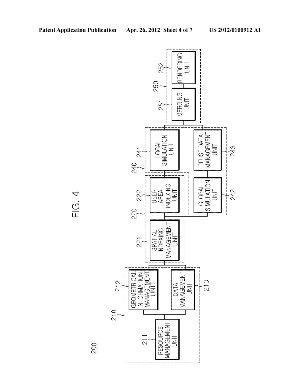 METHOD OF REUSING PHYSICS SIMULATION RESULTS AND GAME SERVICE APPARATUS     USING THE SAME - diagram, schematic, and image 05