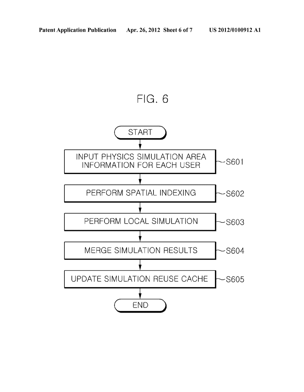 METHOD OF REUSING PHYSICS SIMULATION RESULTS AND GAME SERVICE APPARATUS     USING THE SAME - diagram, schematic, and image 07
