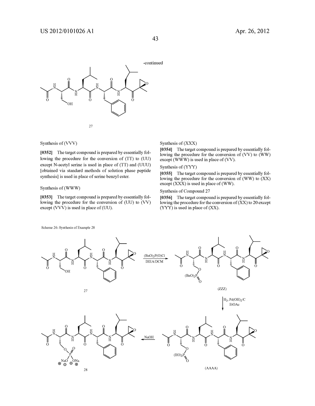 Compounds For Enzyme Inhibition - diagram, schematic, and image 44