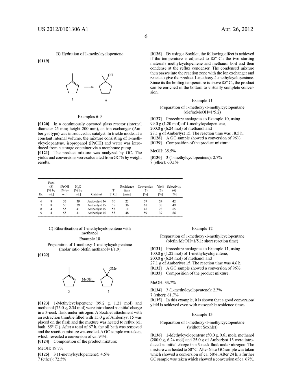 PROCESS FOR THE PREPARATION OF 1-METHYLCYCLOPENTANE DERIVATIVES - diagram, schematic, and image 08