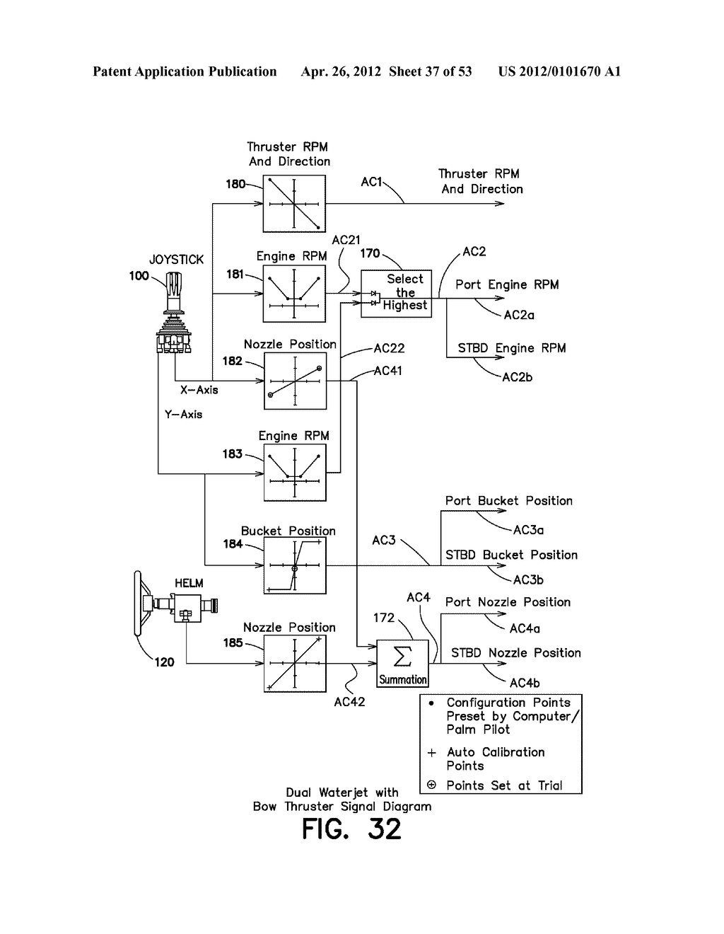 METHOD AND APPARATUS FOR CONTROLLING A MARINE VESSEL - diagram, schematic, and image 38