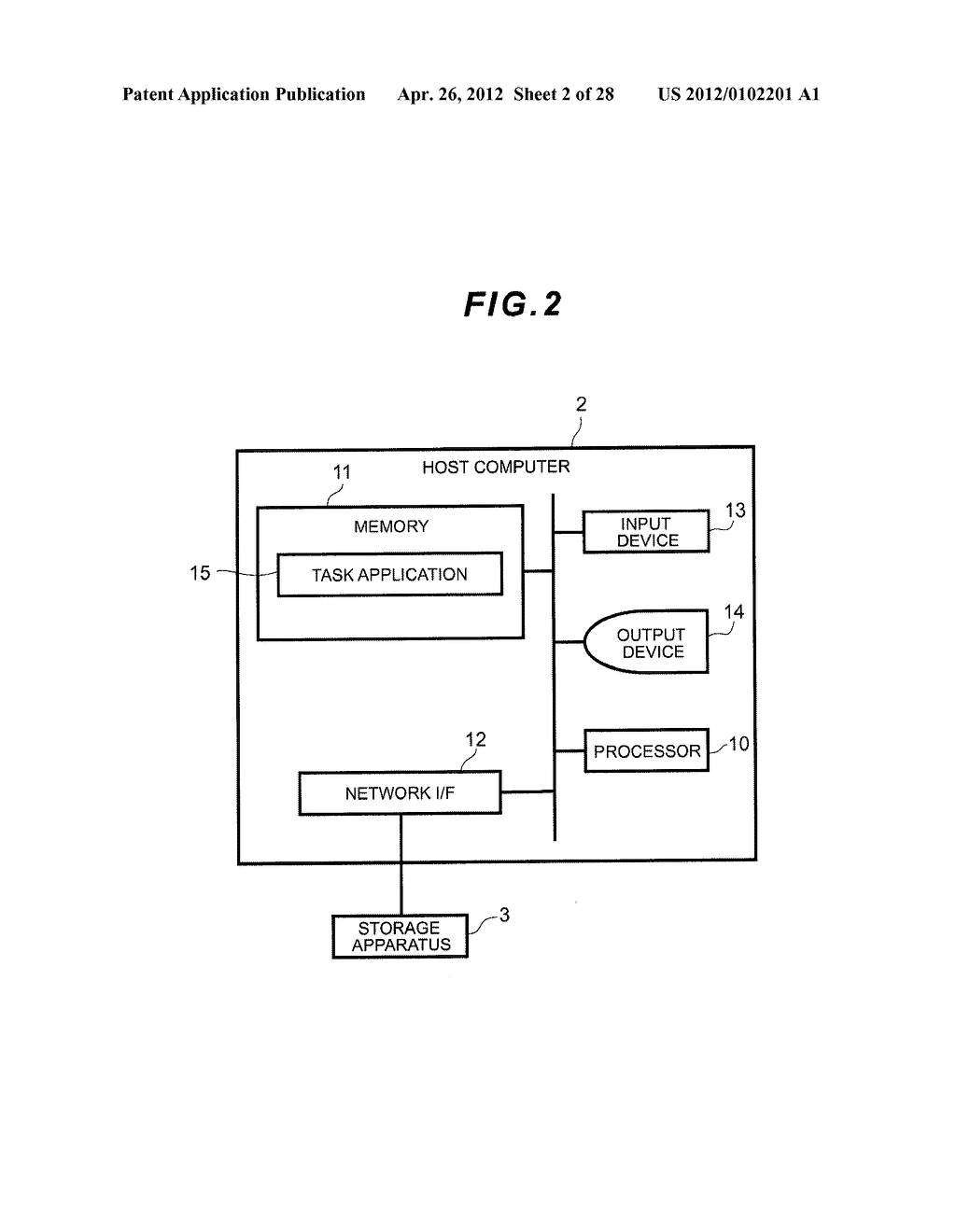 STORAGE APPARATUS AND MANAGEMENT METHOD THEREOF - diagram, schematic, and image 03