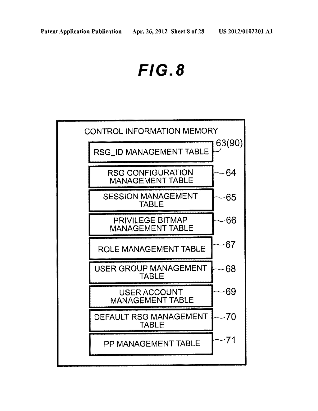 STORAGE APPARATUS AND MANAGEMENT METHOD THEREOF - diagram, schematic, and image 09