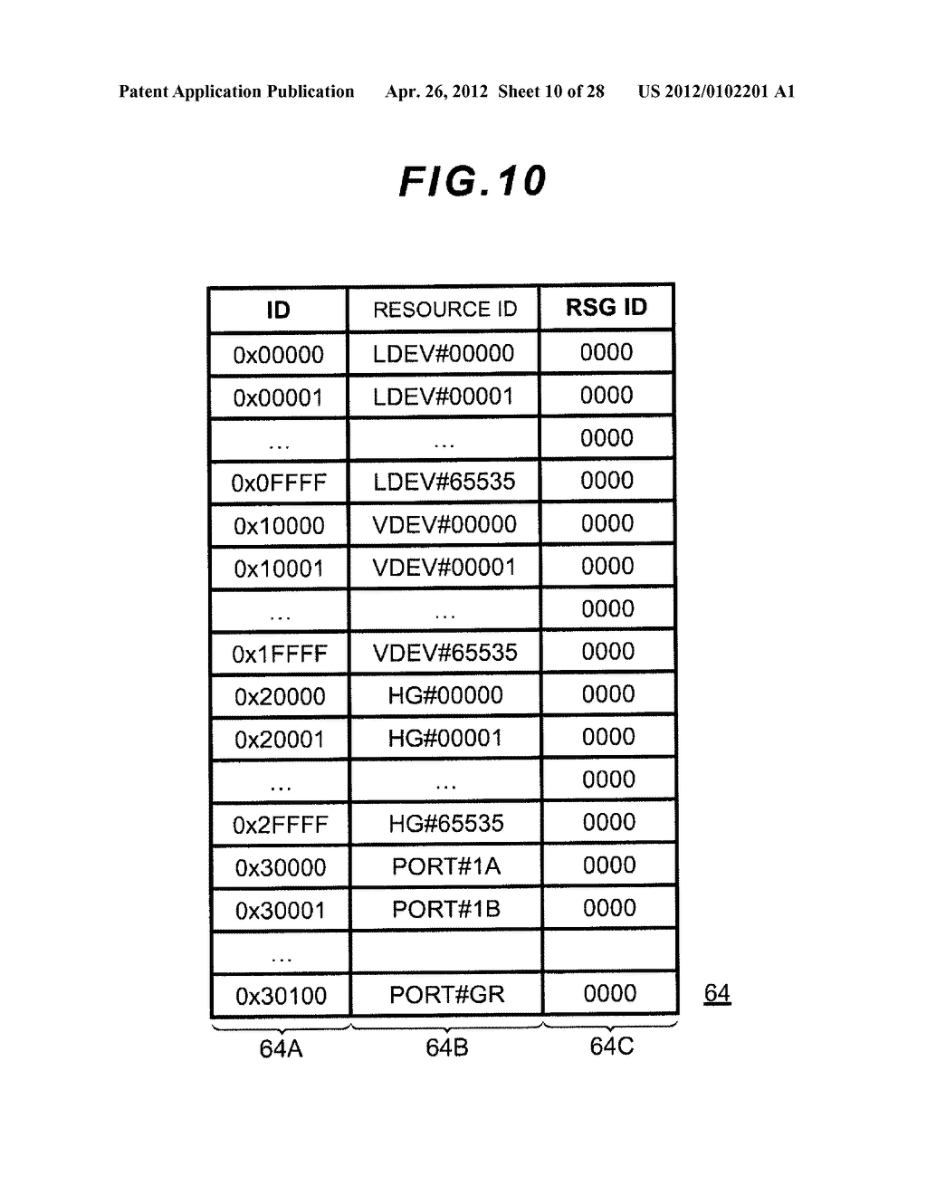 STORAGE APPARATUS AND MANAGEMENT METHOD THEREOF - diagram, schematic, and image 11