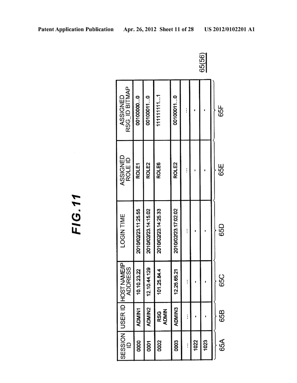 STORAGE APPARATUS AND MANAGEMENT METHOD THEREOF - diagram, schematic, and image 12