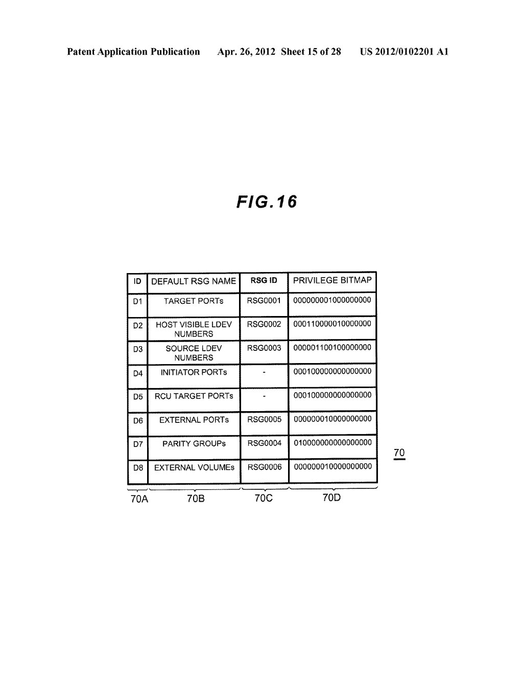 STORAGE APPARATUS AND MANAGEMENT METHOD THEREOF - diagram, schematic, and image 16