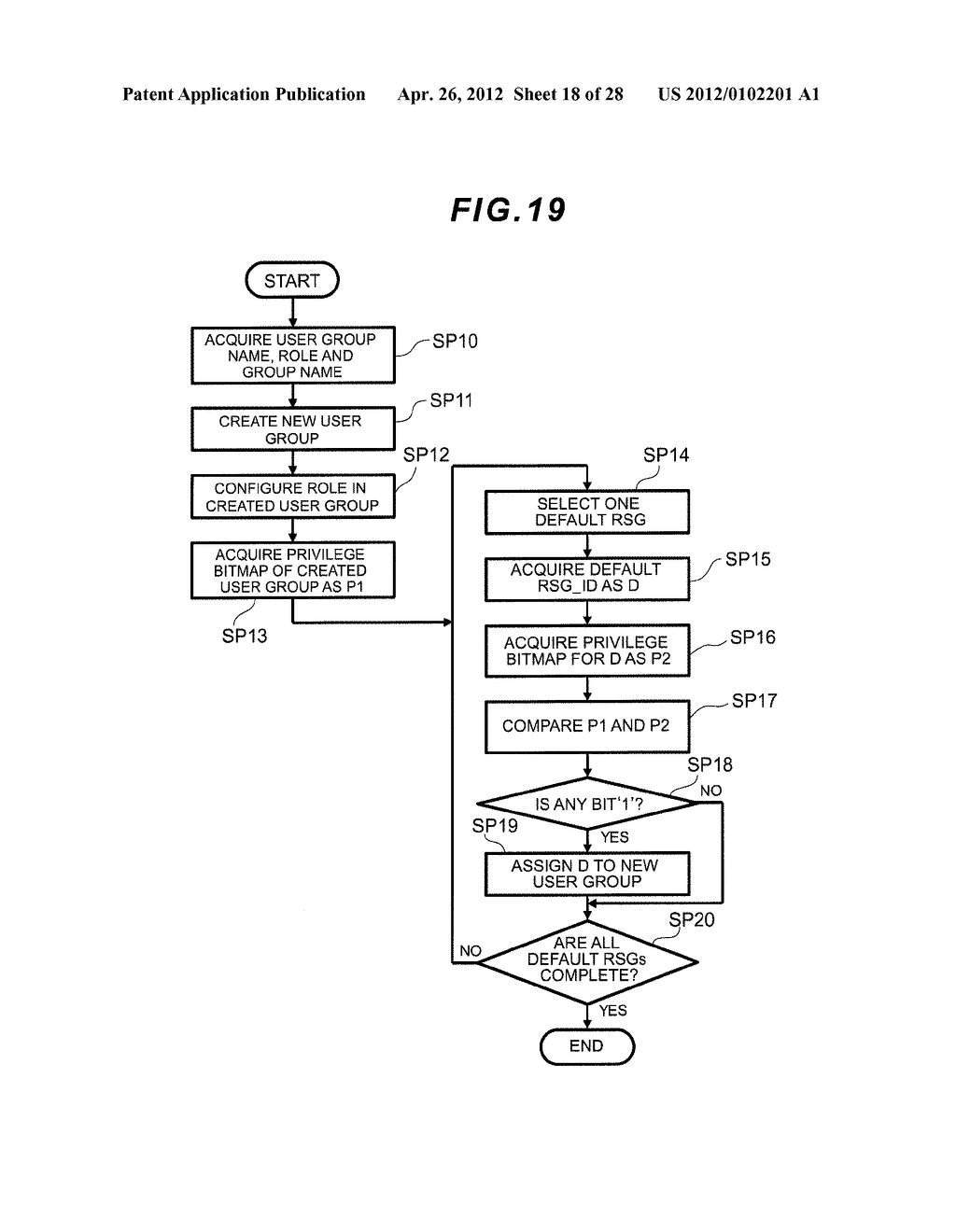 STORAGE APPARATUS AND MANAGEMENT METHOD THEREOF - diagram, schematic, and image 19