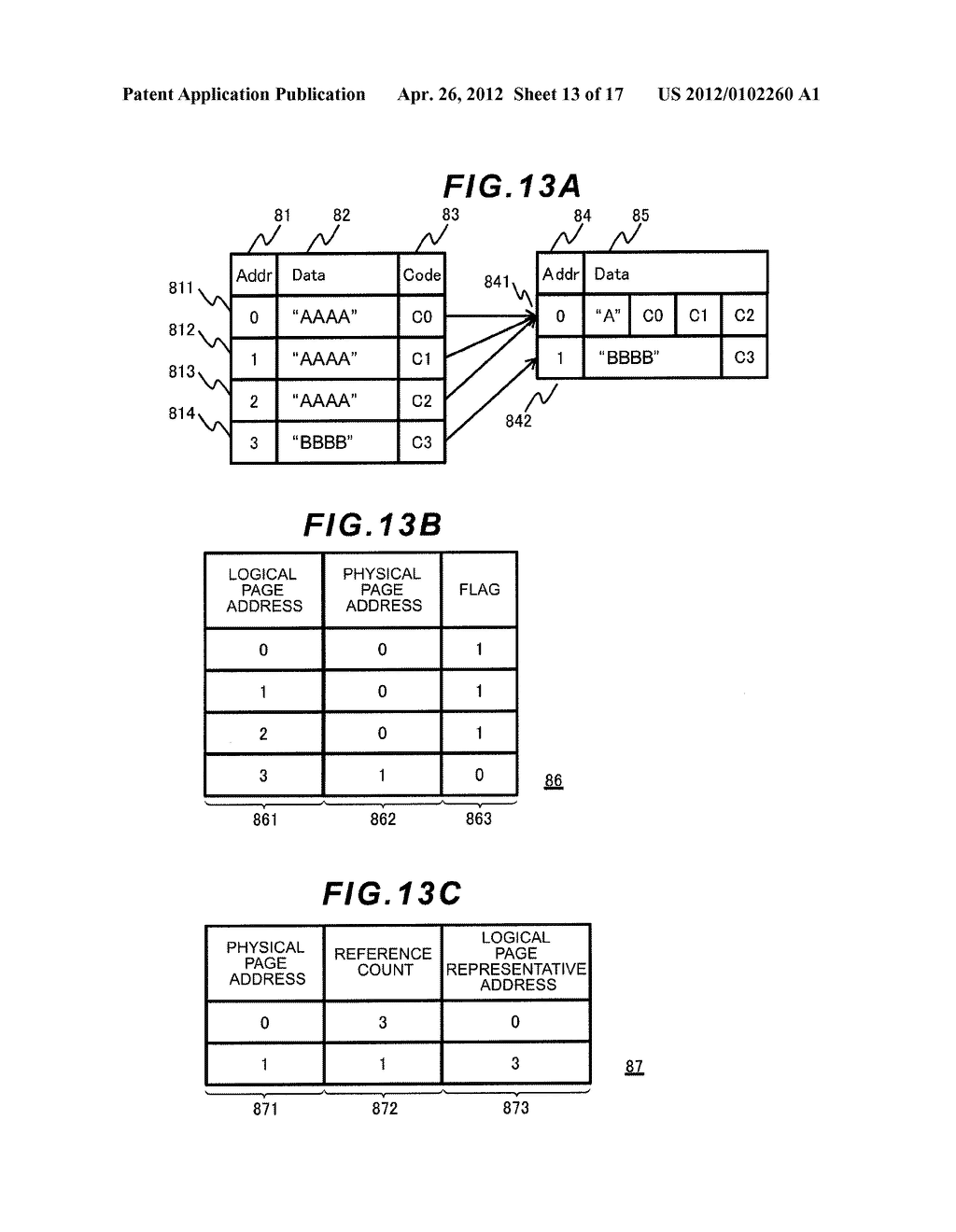 STORAGE APPARATUS AND DATA CONTROL METHOD - diagram, schematic, and image 14