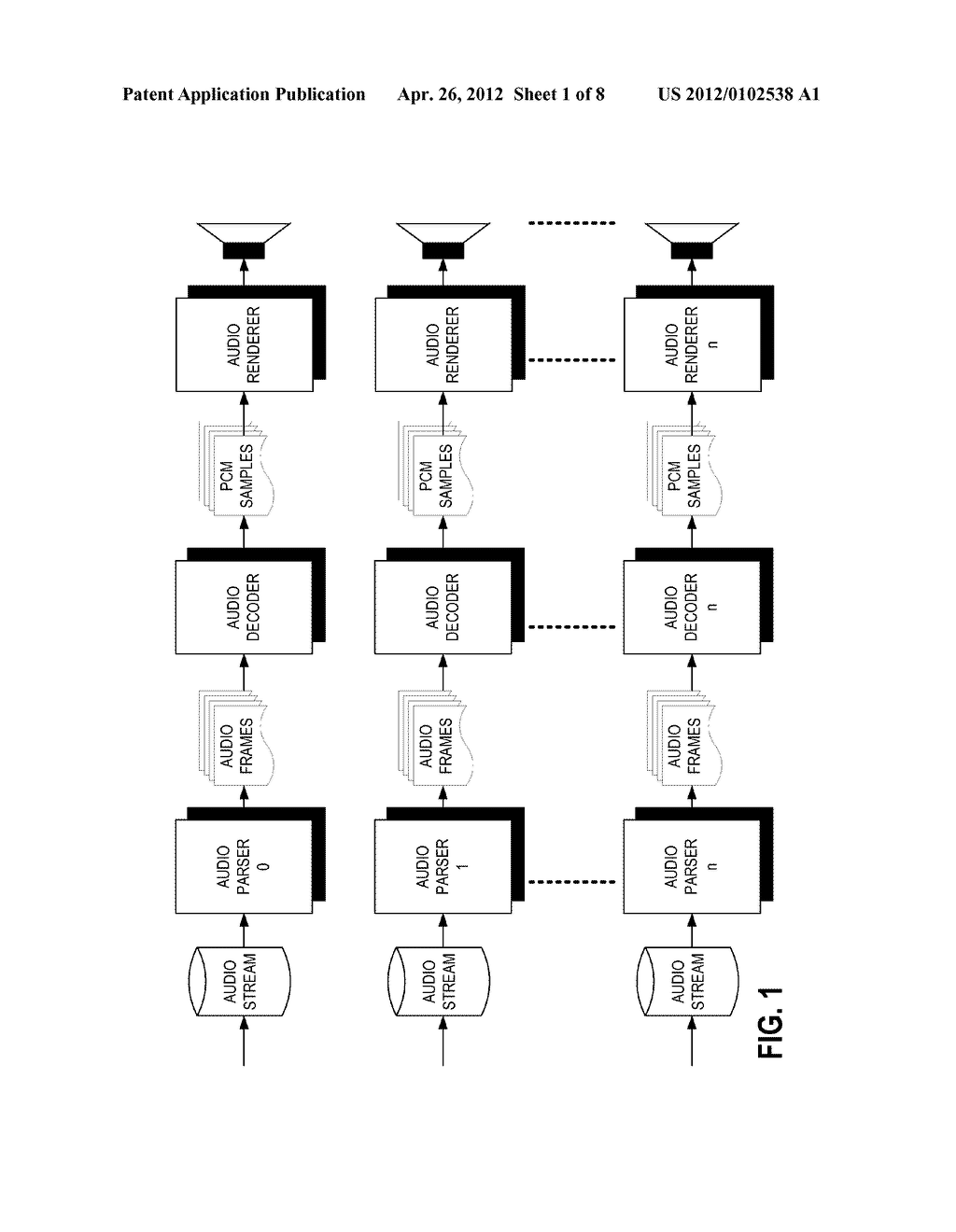 METHODS AND APPARATUS FOR DECODING MULTIPLE INDEPENDENT AUDIO STREAMS     USING A SINGLE AUDIO DECODER - diagram, schematic, and image 02