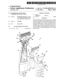 HAIR REMOVAL DEVICE WITH CARTRIDGE RETENTION COVER diagram and image