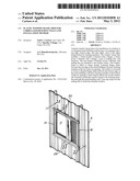 PLASTIC WINDOW FRAME TRIM FOR CORRUGATED BUILDING WALLS AND INSTALLATION     METHOD diagram and image