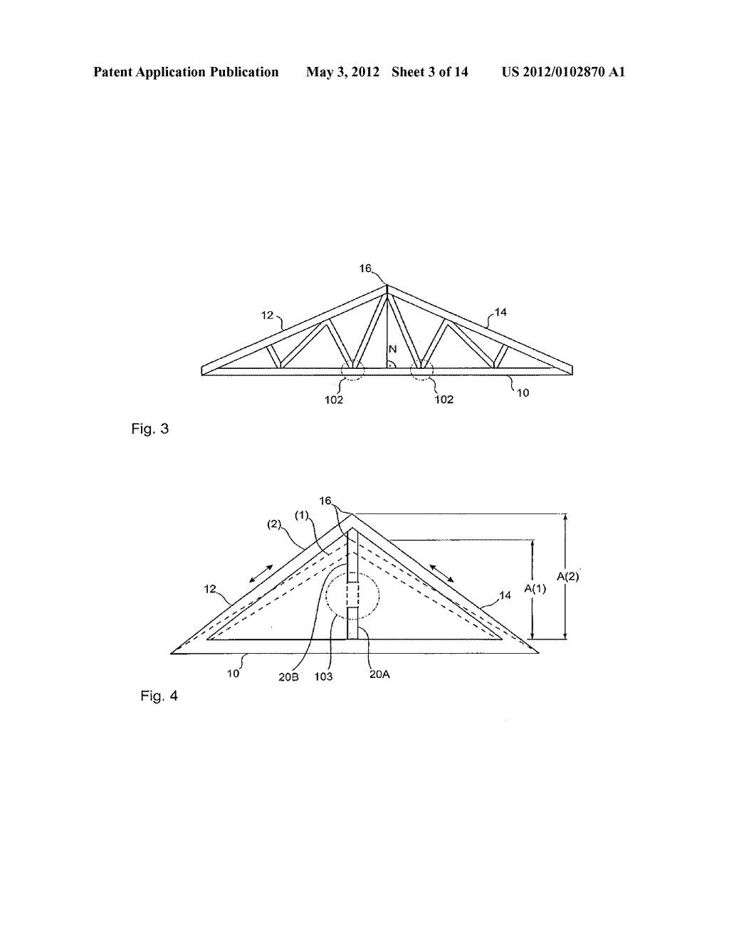 Wooden Roof Truss Diagram Schematic And Image 04