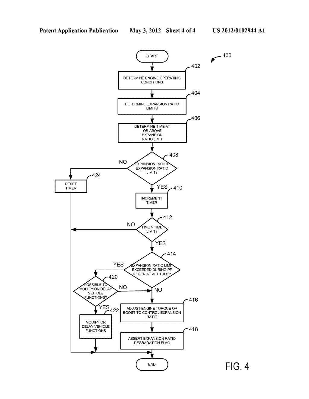 Method and System for Limiting Output of a Boosted Engine - diagram, schematic, and image 05