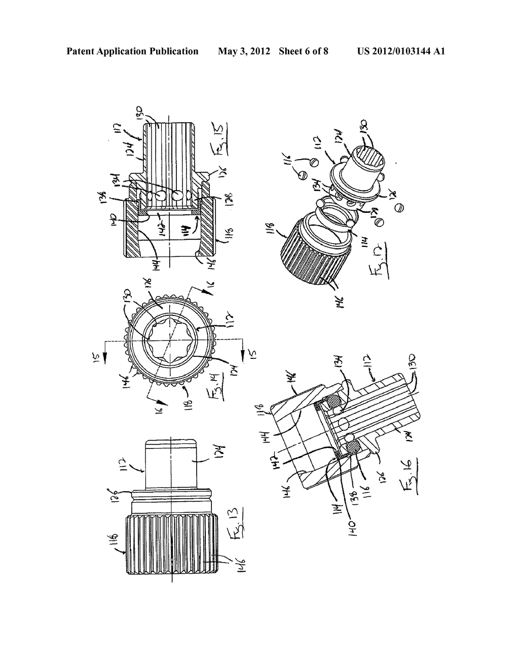 Shaft Securing Mechanism for a Tool - diagram, schematic, and image 07