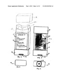 SHAVING PRODUCT DISPENSER CONTAINER WITH MIRROR diagram and image