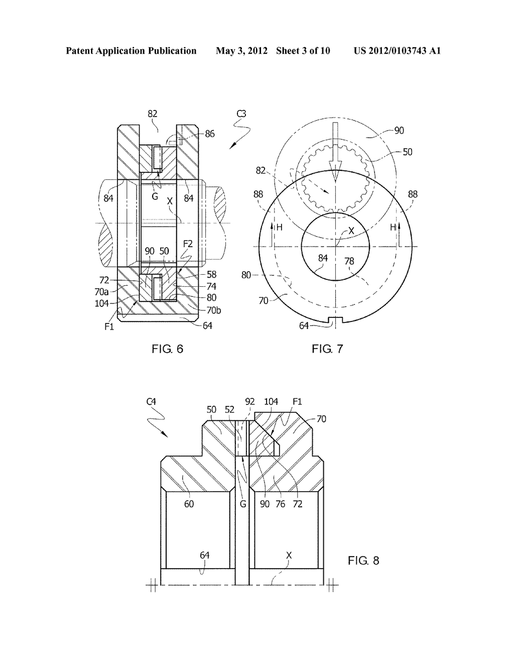 SPATIAL WEDGING FRICTION OVERRUNNING CLUTCH - diagram
