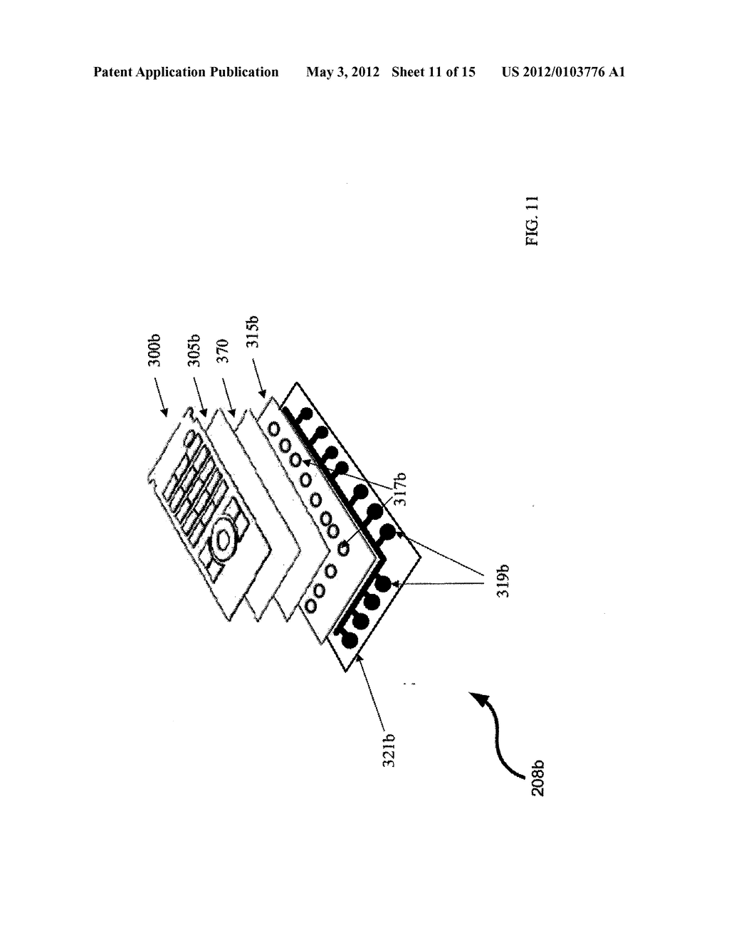 METHOD AND APPARATUS FOR CONTROLLING A MULTI-MODE KEYBOARD - diagram, schematic, and image 12
