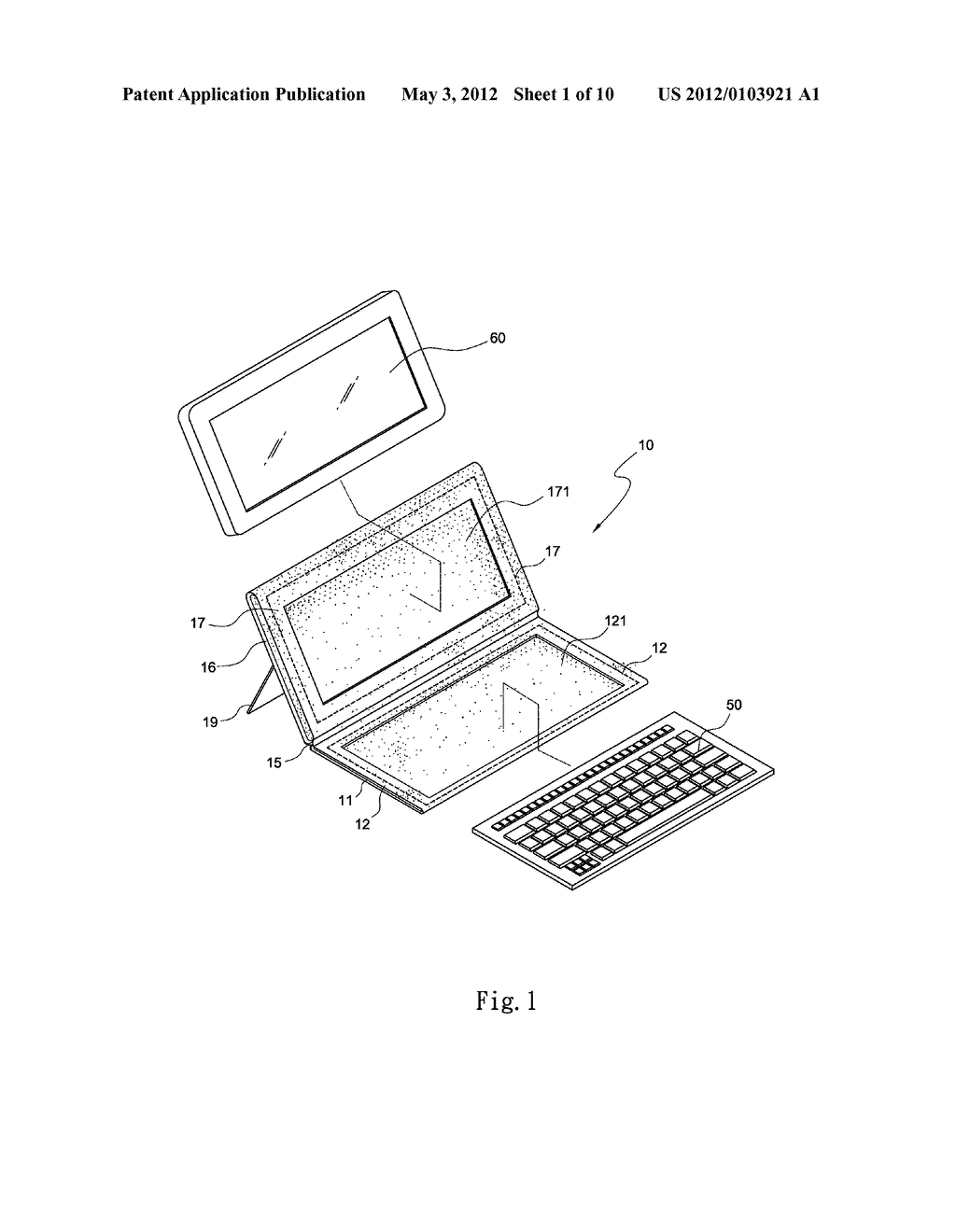 HOLDER FOR HOLDING PORTABLE ELECTRONIC DEVICES - diagram, schematic, and image 02