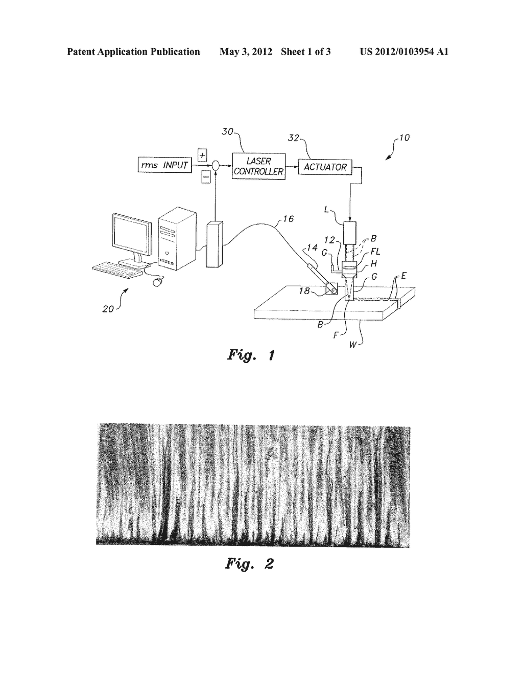 SYSTEM AND METHOD FOR MINIMIZING FORMATION OF STRIATION PATTERNS IN LASER     CUTTING - diagram, schematic, and image 02