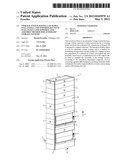 STORAGE SYSTEM HAVING LATCHABLE WALL PANELS AND SUPPORTS, KIT SUCH WALL     PANELS AND SUPPORTS, AND ASSEMBLY METHOD FOR AUTOMATIC STORAGE SYSTEMS diagram and image