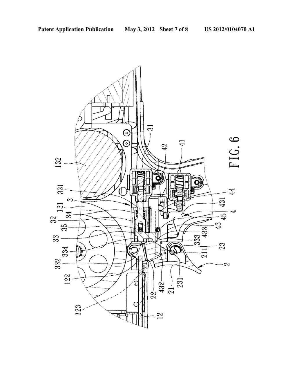 Two-Switch Device for an Electric Nail Gun - diagram, schematic, and on