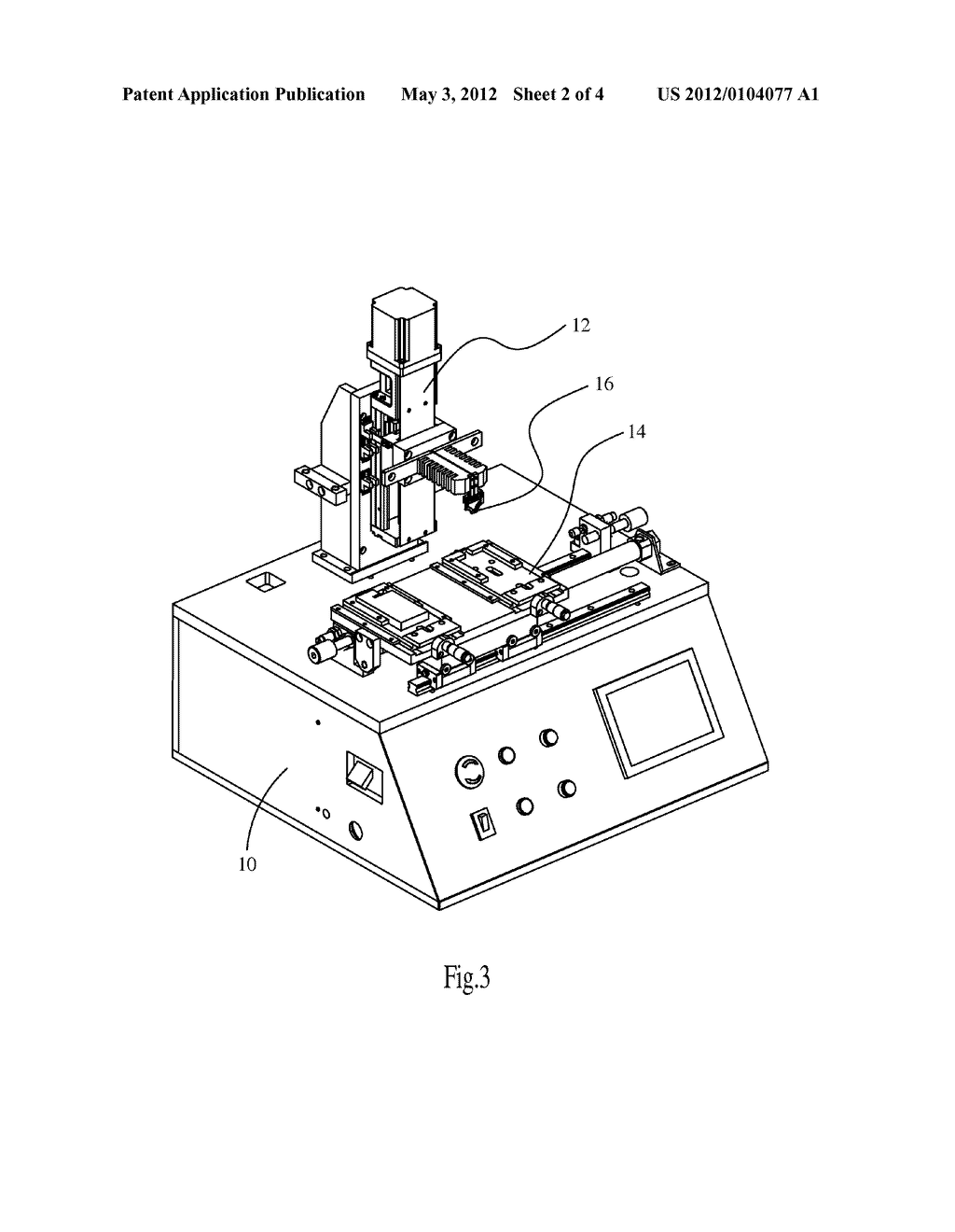 AUTOMATIC SOLDERING APPARATUS AND SOLDERING METHOD THEREOF - diagram, schematic, and image 03