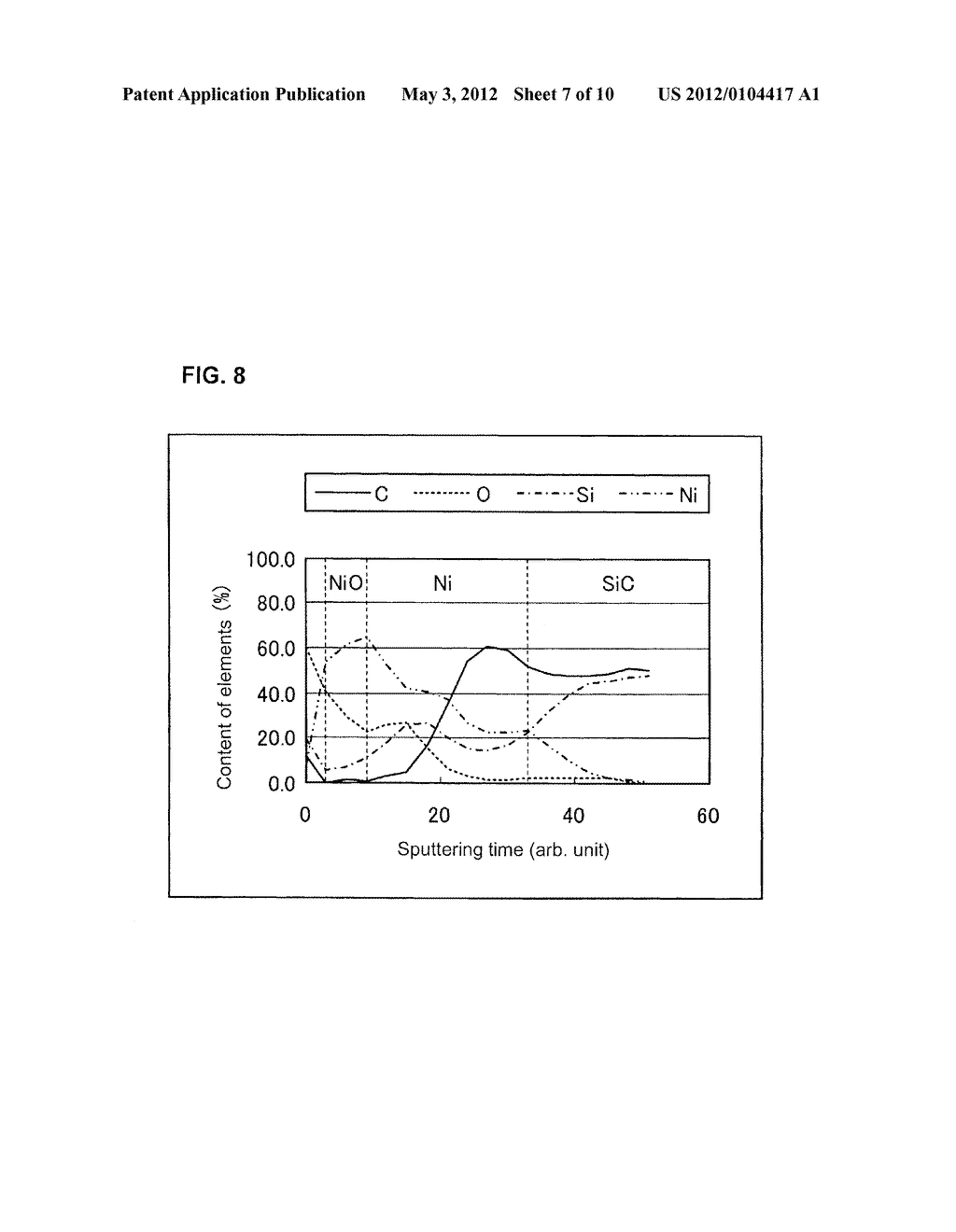 SILICON CARBIDE SEMICONDUCTOR ELEMENT, METHOD OF MANUFACTURING THE SAME,     AND SILICON CARBIDE DEVICE - diagram, schematic, and image 08