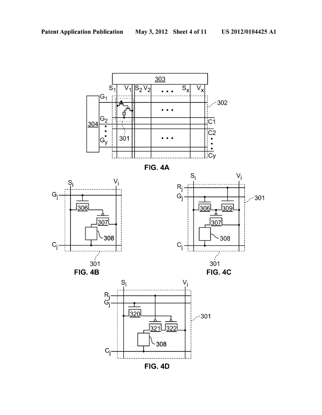 Method of Driving A Light Emitting Device - diagram, schematic, and image 05