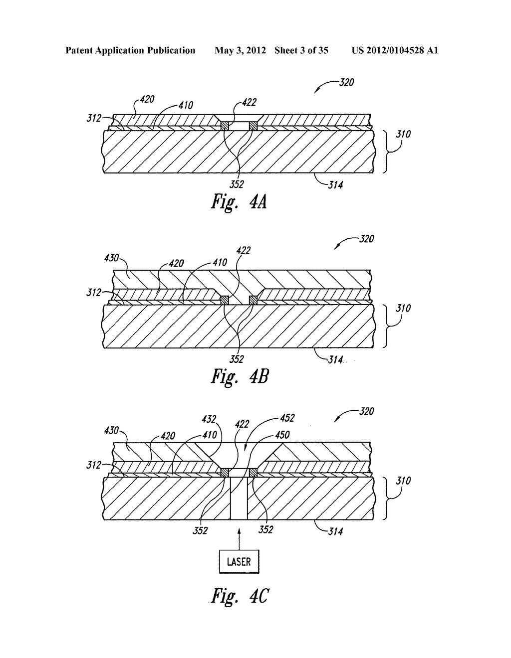 WAFER-LEVEL PACKAGED MICROELECTRONIC IMAGERS AND PROCESSES FOR WAFER-LEVEL     PACKAGING - diagram, schematic, and image 04