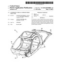 AUTOMOTIVE VEHICLE COMPOSITE BODY STRUCTURE diagram and image