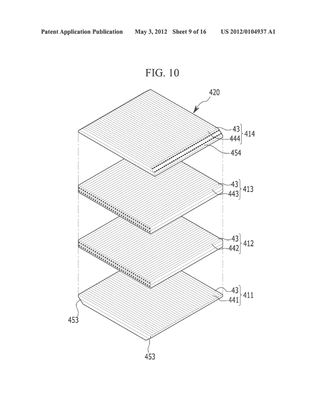 DISPLAY DEVICE, MANUFACTURING METHOD OF THE DISPLAY DEVICE, ORGANIC LIGHT     EMITTING DIODE DISPLAY - diagram, schematic, and image 10
