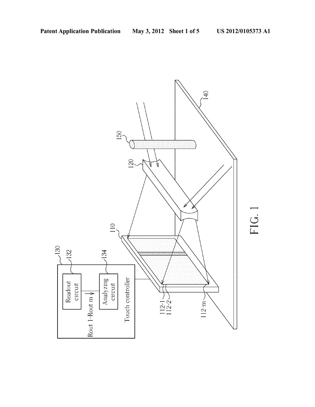 METHOD FOR DETECTING TOUCH STATUS OF SURFACE OF INPUT DEVICE AND INPUT     DEVICE THEREOF - diagram, schematic, and image 02