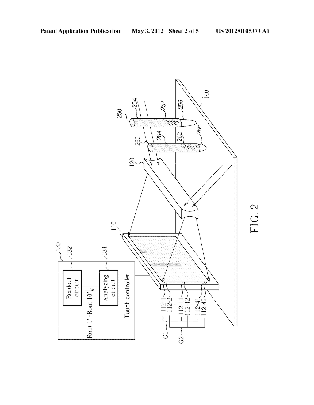 METHOD FOR DETECTING TOUCH STATUS OF SURFACE OF INPUT DEVICE AND INPUT     DEVICE THEREOF - diagram, schematic, and image 03