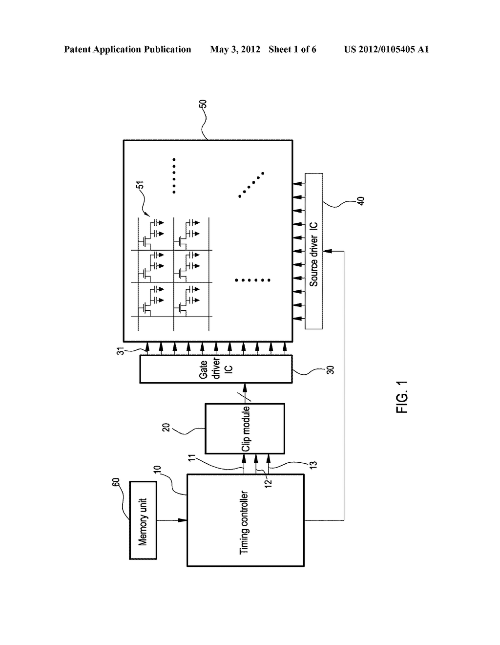 DISPLAY CLIP SYSTEM AND TIMING CLIP CONTROL METHOD THEREOF - diagram, schematic, and image 02