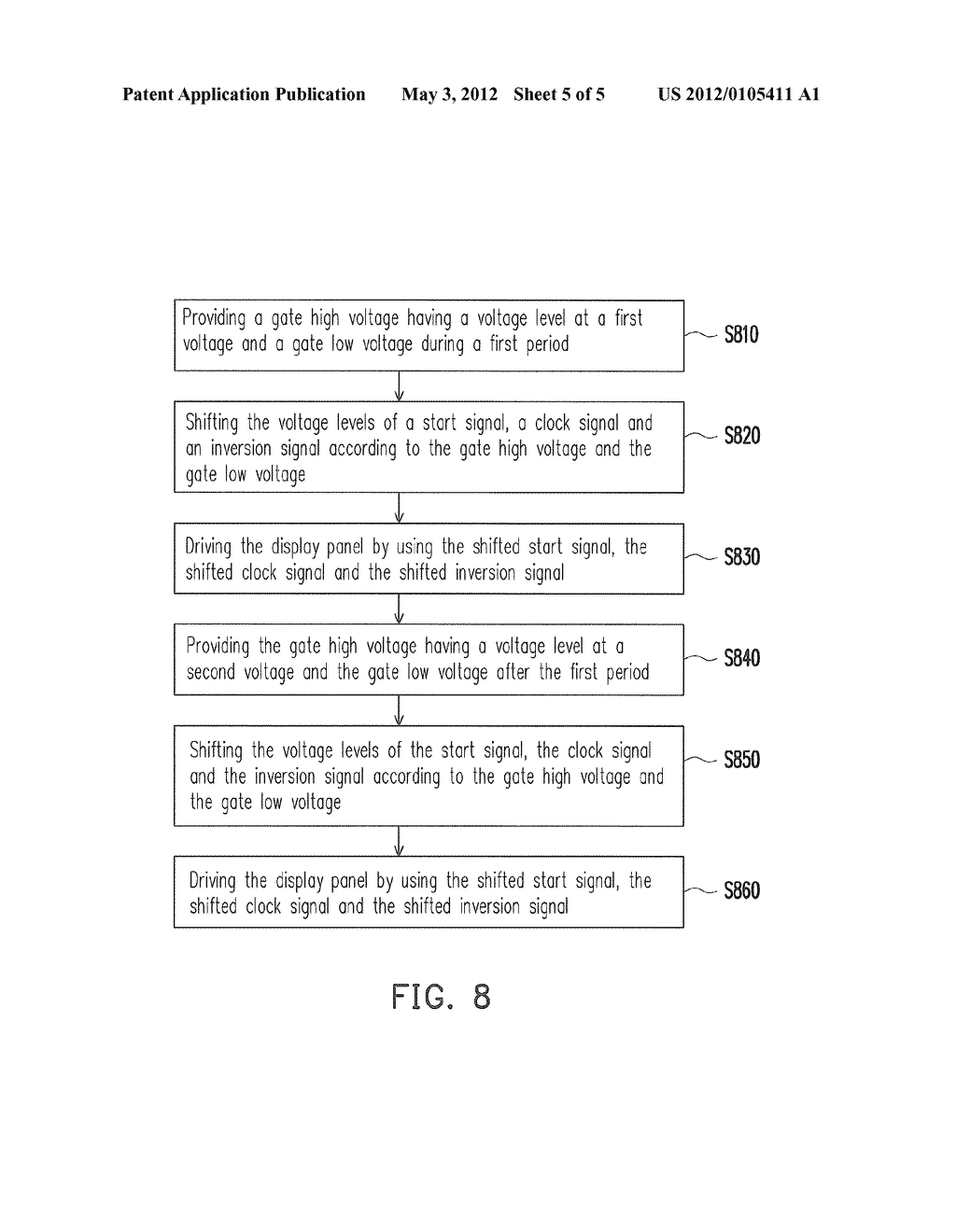 DISPLAY DEVICE AND DRIVING METHOD THEREOF - diagram, schematic, and image 06