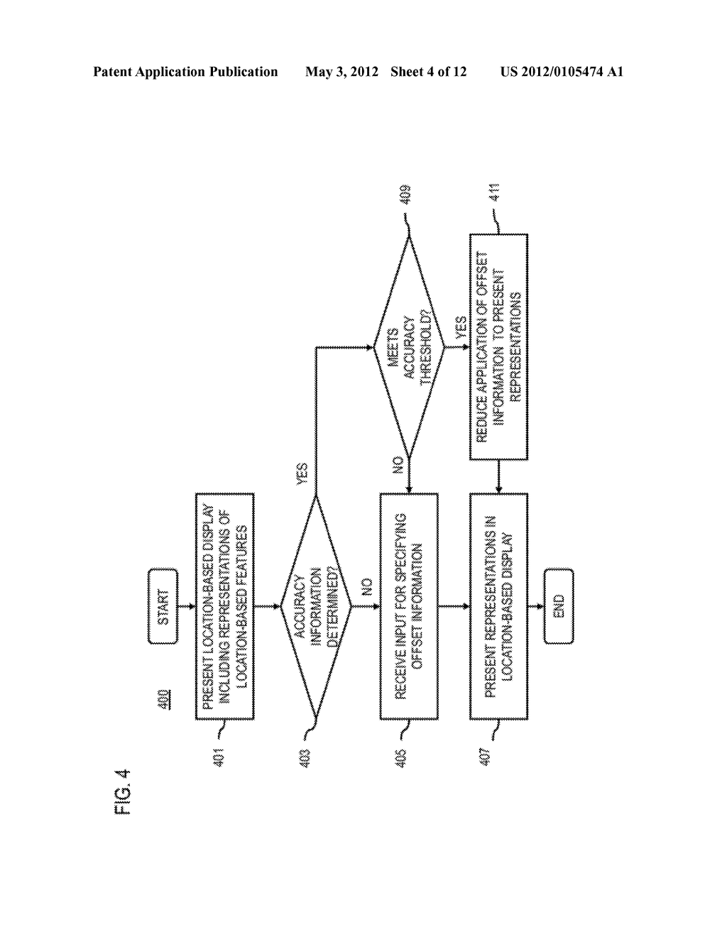 METHOD AND APPARATUS FOR DETERMINING LOCATION OFFSET INFORMATION - diagram, schematic, and image 05