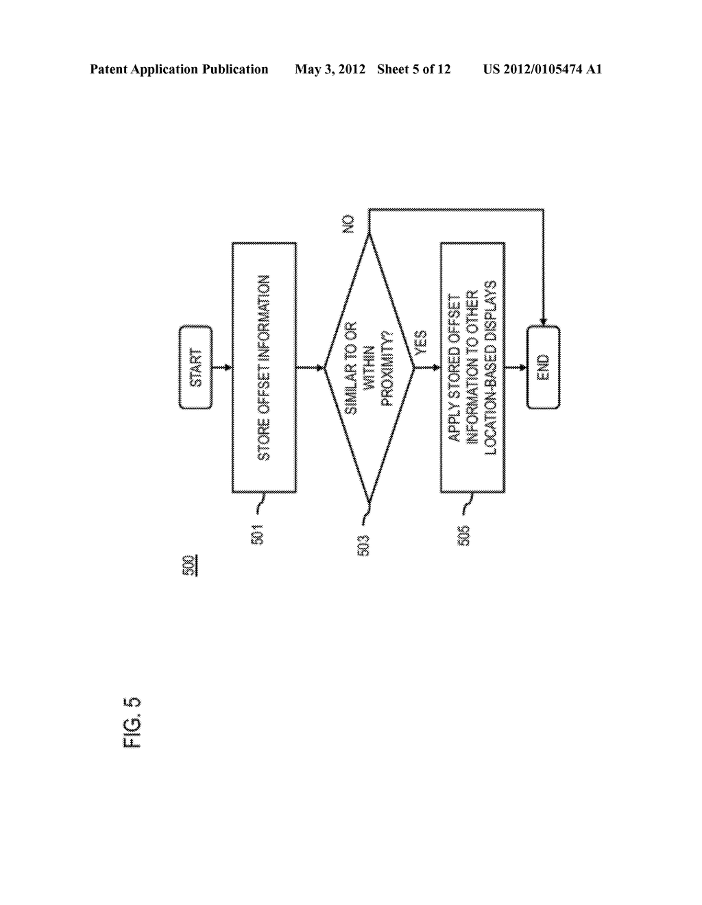 METHOD AND APPARATUS FOR DETERMINING LOCATION OFFSET INFORMATION - diagram, schematic, and image 06
