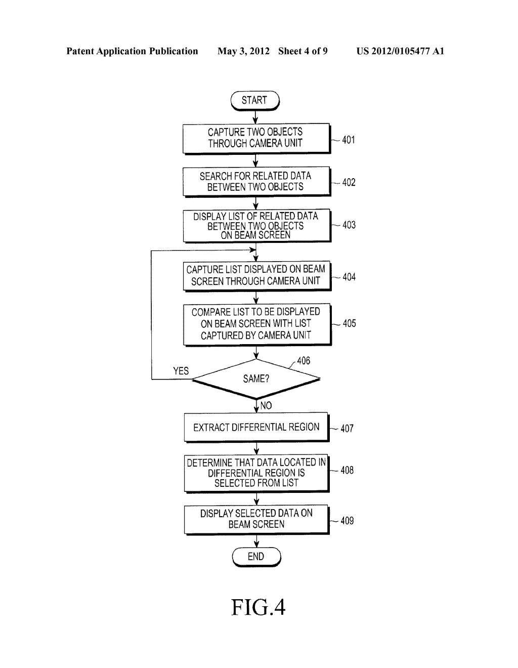 APPARATUS AND METHOD FOR DISPLAYING DATA IN PORTABLE TERMINAL - diagram, schematic, and image 05